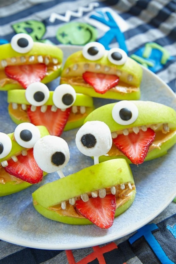 obst fingerfood halloween snacks ideen