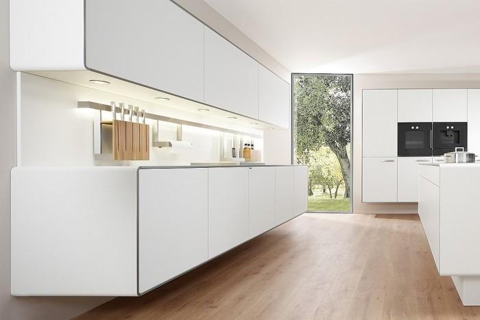 offene küche nur in weiß modern gestalten