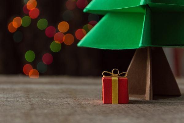 origami weihnachten idee weihnachtsbaum geschenke