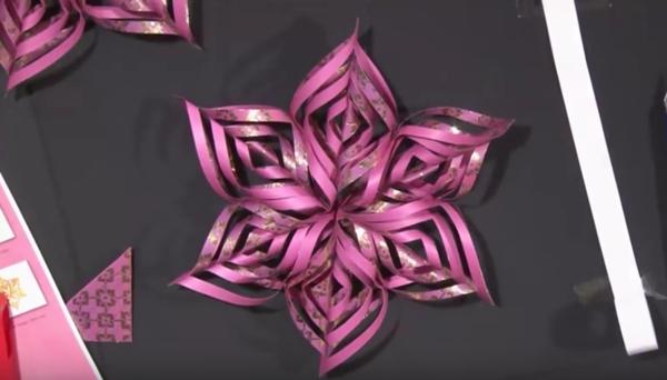 origami weihnachten stern basteln aus papier
