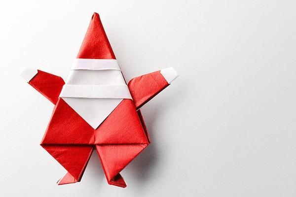 origami zu weihnachten falten 5 ausf hrliche anleitungen. Black Bedroom Furniture Sets. Home Design Ideas