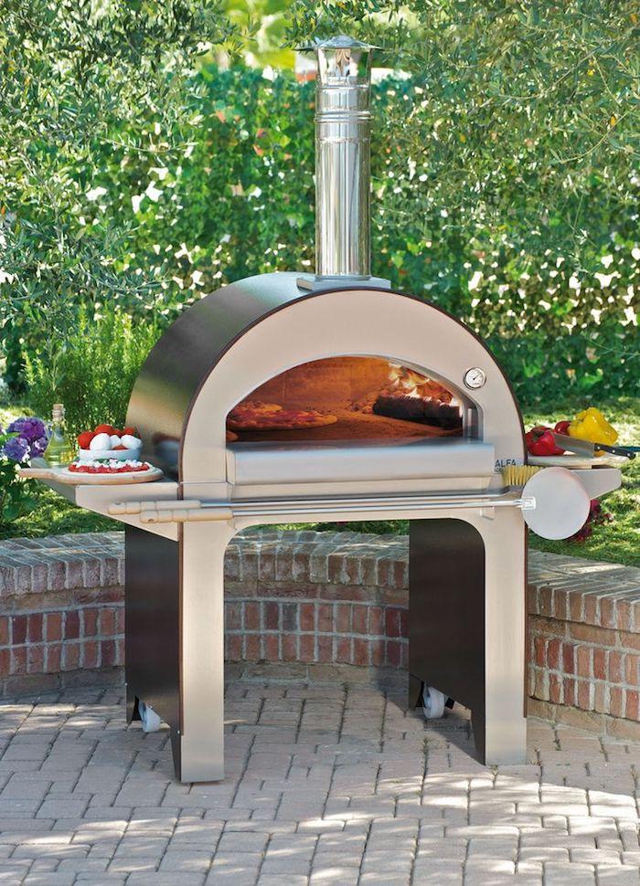 pizzaofen aus metall