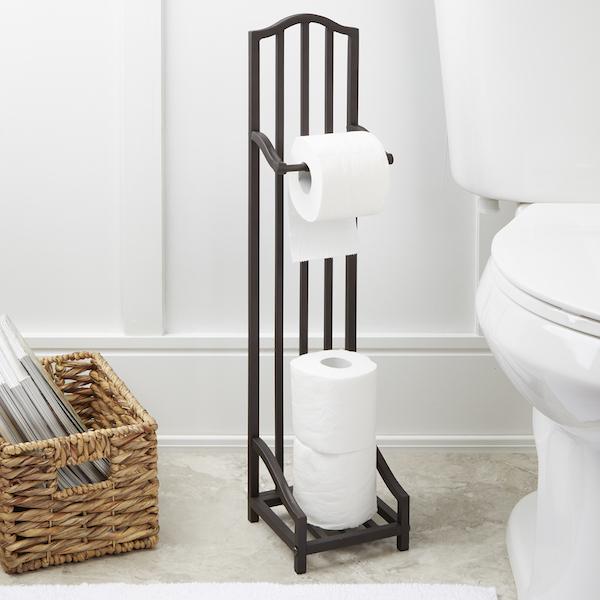 retro edelstahl diy wc papierhalter