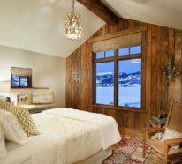 Rustikale Holzwände Zu Hause U2013 30 Beispiele Für Eyecatchende Wandgestaltung!