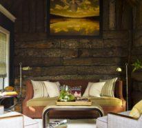 Rustikale Holzwände zu Hause – 30 Beispiele für eyecatchende Wandgestaltung!