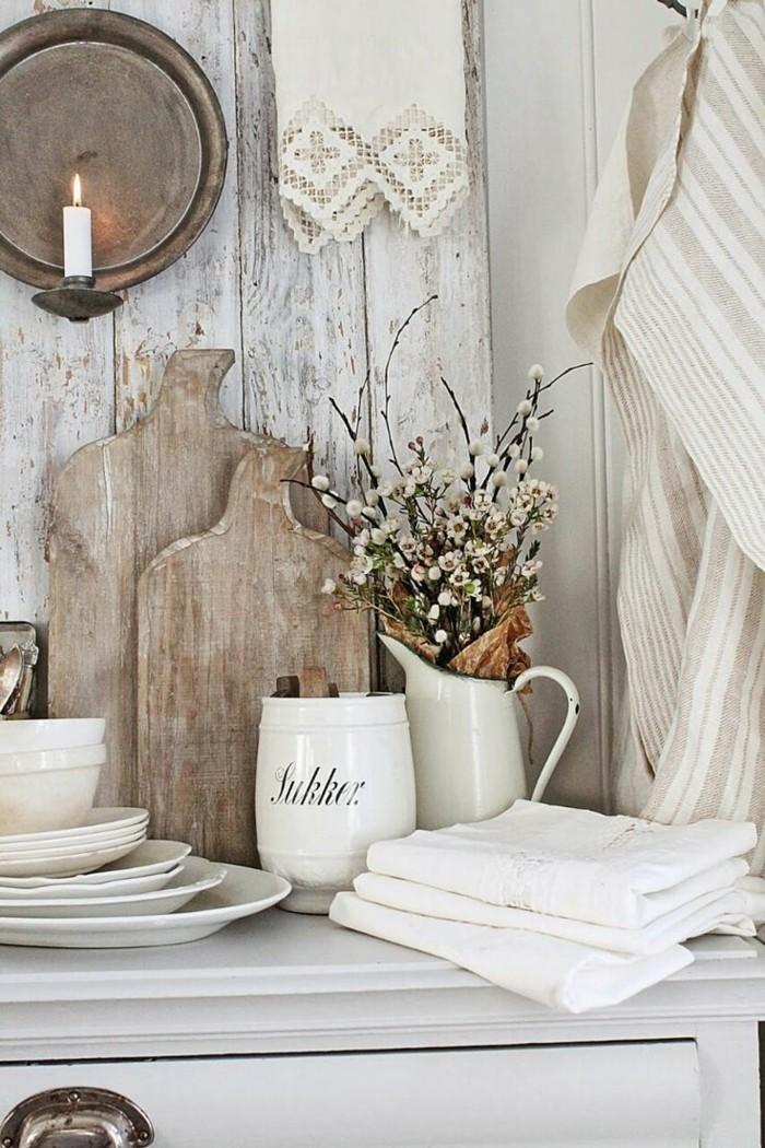 rustikale wohndekoration accessoires für mehr gemütlichkeit