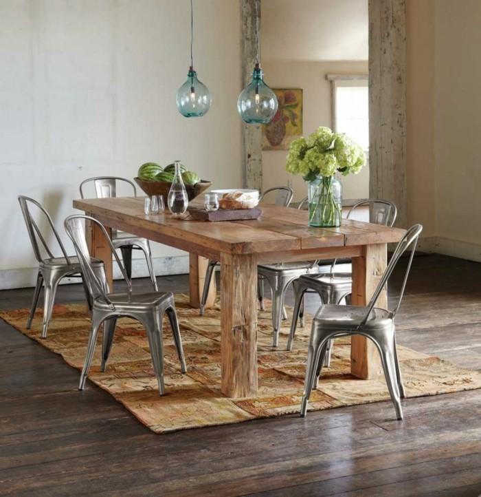 rustikale wohndekoration rustikale accessoires esszimmer