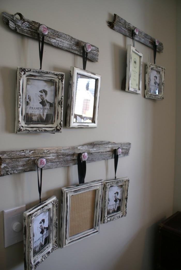 Rustikale deko 59 beispiele f r rustikale dekoration und behaglichkeit im innendesign - Wanddeko mit fotos ...