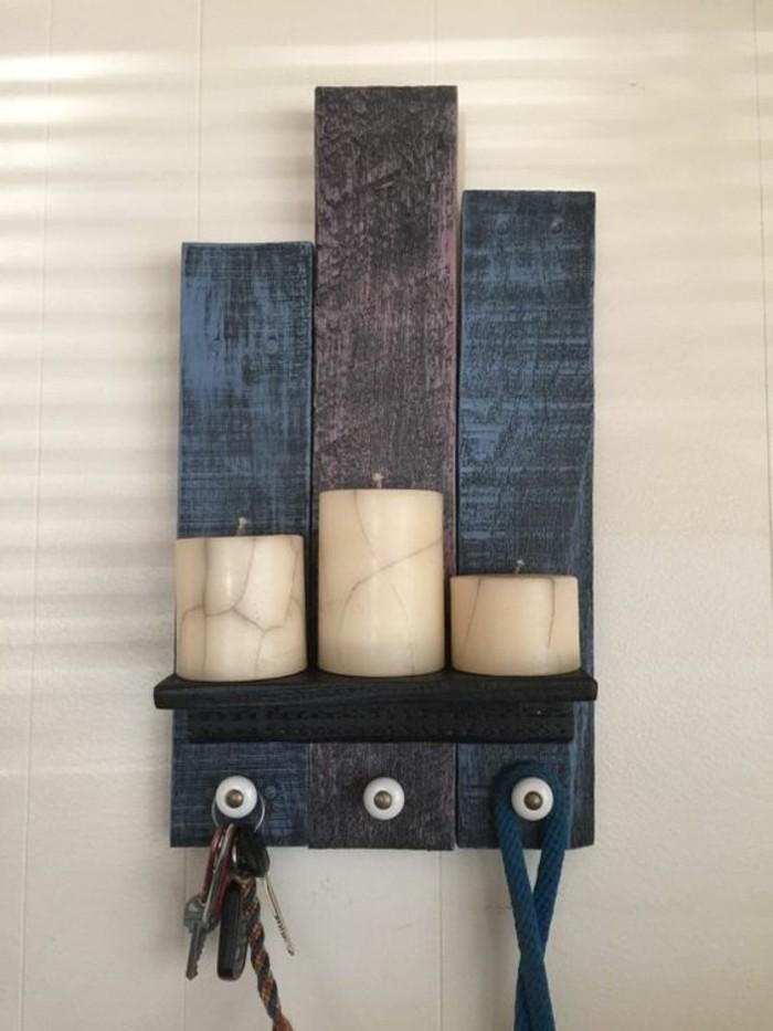 rustikale wohndekoration wanddeko ideen