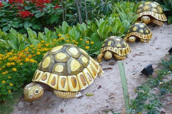 schildkröten töpfer für den garten