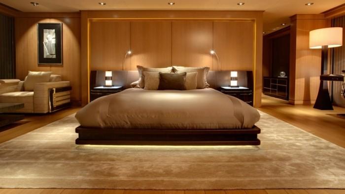 schlafzimmer einrichten gemütliche einrichtung warme farben
