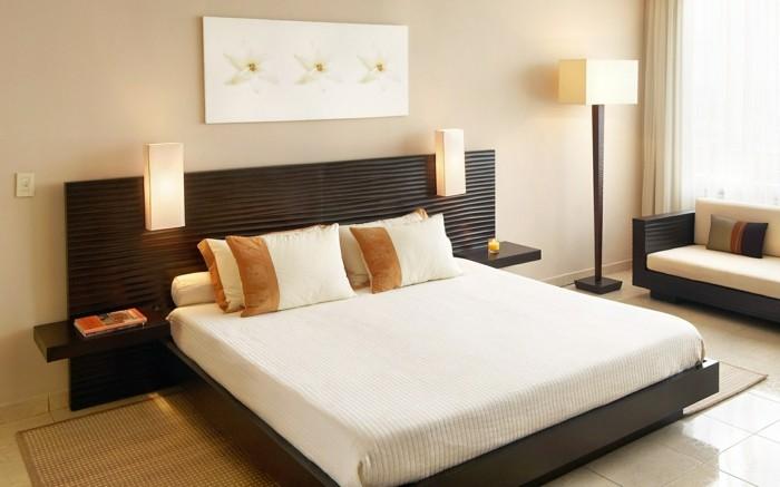 schlafzimmer einrichten stilvoll gemütlich helle farben
