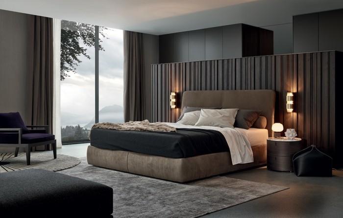 schlafzimmer ideen männlich neutrale farben