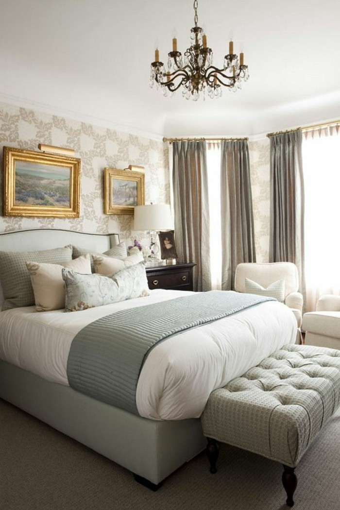 schlafzimmer ideen romantisch stilvoll gemütlich
