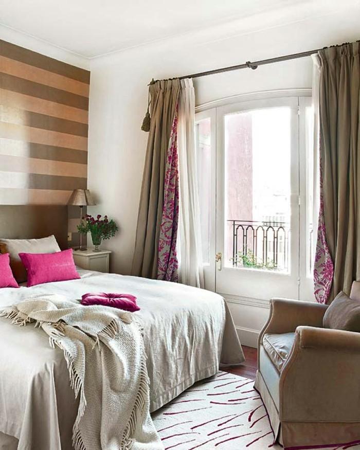 schlafzimmer ideen romantisches flair gemütlichkeit