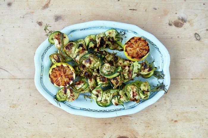 schongaren slow cooking rezepte gesund hähnchen zucchini