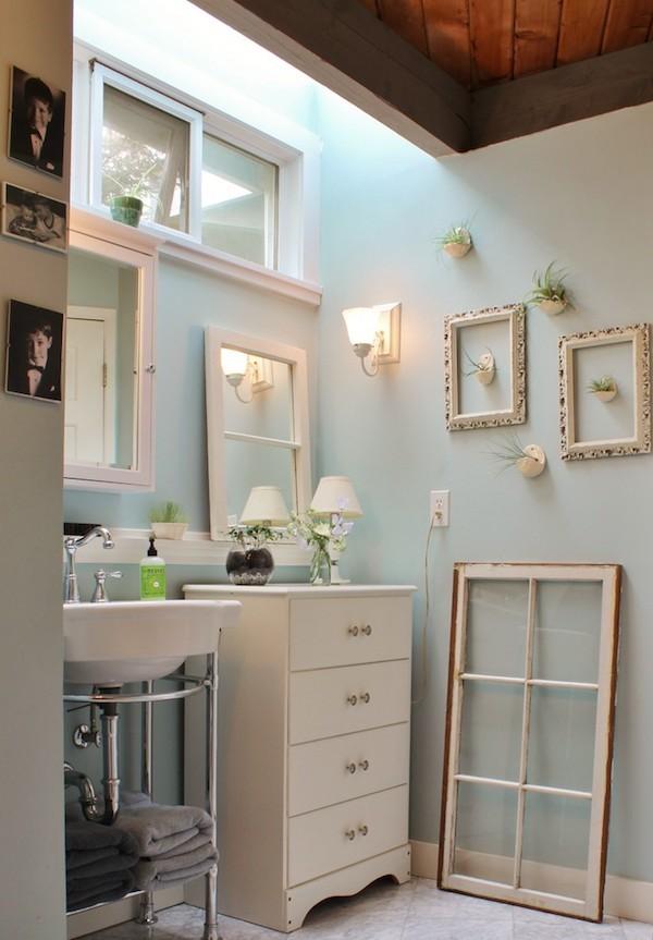 shabby chic badezimmer sind charmant und gem252tlich