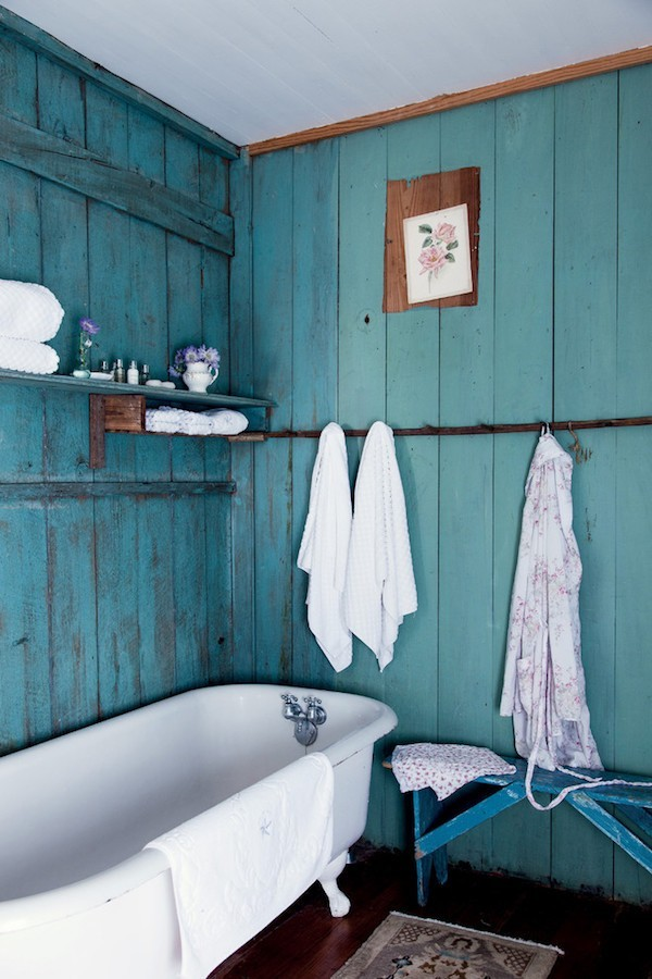 shabby chic badezimmer grüne wände