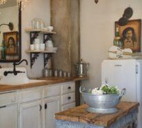 shabby chic küche - gemütlich und nostalgisch, mit einem ... - Küche Shabby Chic