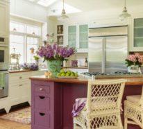 Shabby Küchen shabby chic küche gemütlich und nostalgisch mit einem