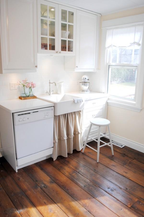 shabby chic k che gem tlich und nostalgisch mit einem romantischen flair. Black Bedroom Furniture Sets. Home Design Ideas