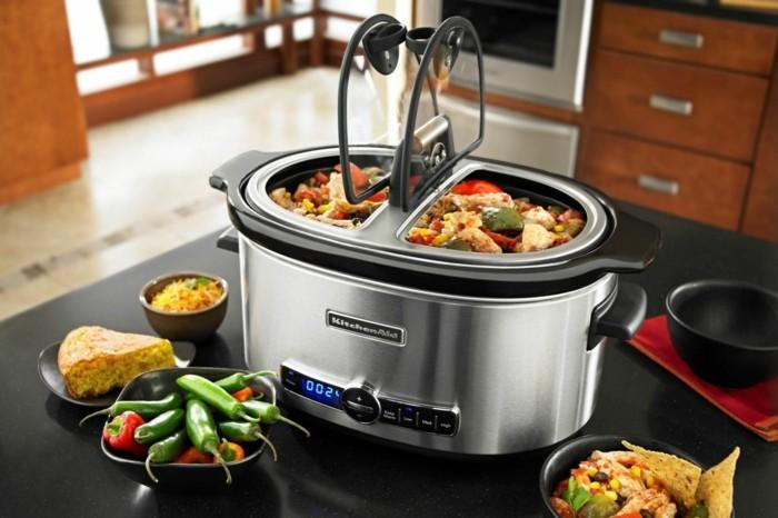 slow cooker gerät gesundes essen