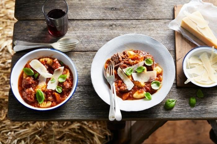 slow cooking gesundes essen rezepte flesich tortellini parmesan