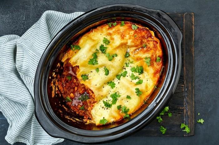 slow cooking lasagne rezept slow food bewegung