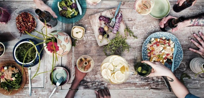 slow cooking slow food-zusammenessen gesund