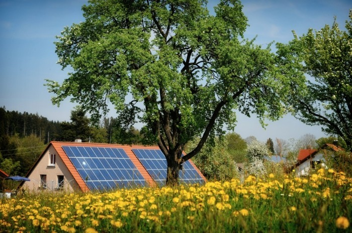 solaranlage photovoltaik energie sparen oeko strom