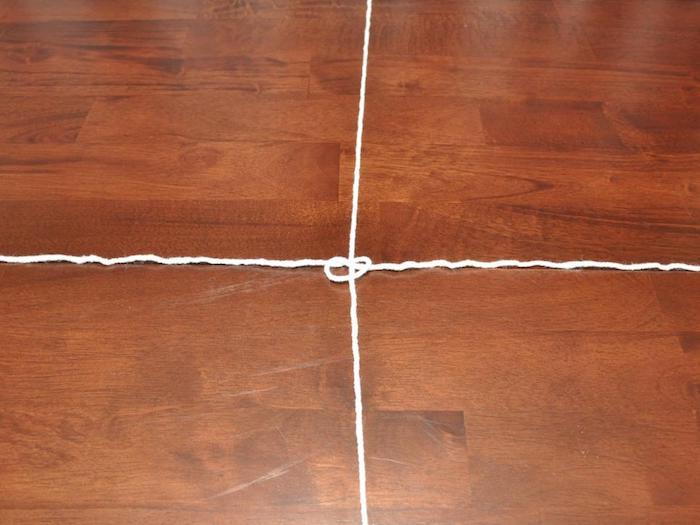 spinnweben selber machen anleitung mit garn