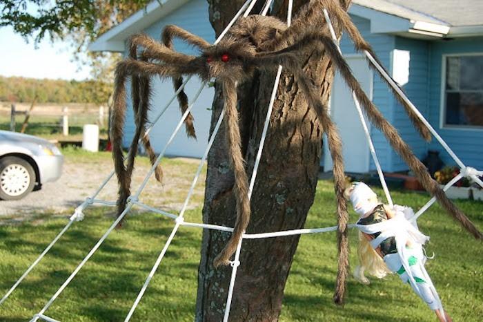 spinnweben selber machen diy anleitung