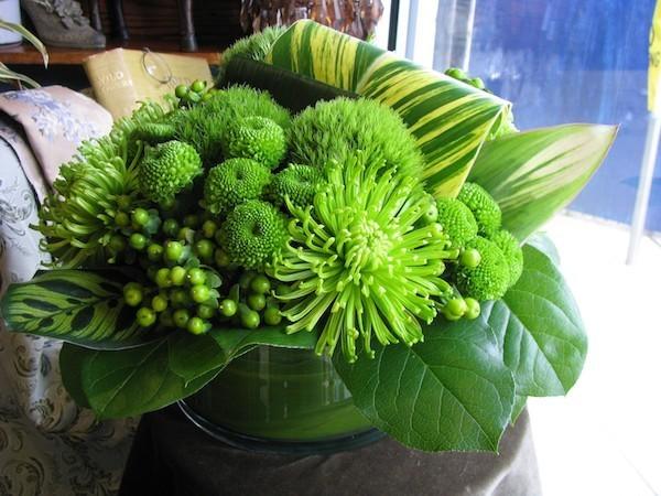 stilvolles Blumenarrangement