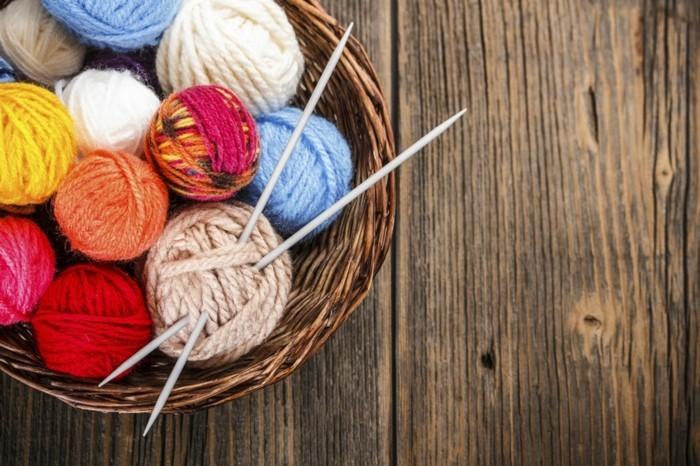 stricken fuer anfaenger kreative weihnachstgeschnke selber machen farbgestaltung