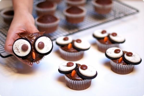 suesse eulen halloween fingerfood selber machen