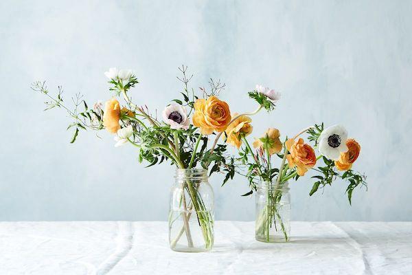 vasen mit blumengestecken selber machen
