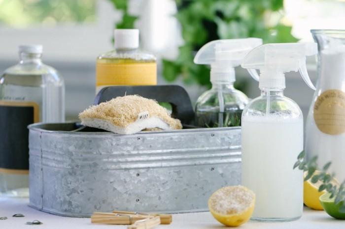 vegane reinigungsmittel nachhaltig wohnen und putzen