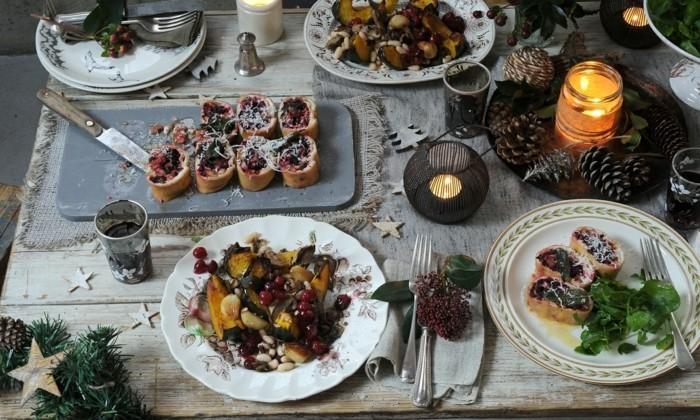 vegetarsiches Weihnachtsmenue rezepte ohne fleisch fest