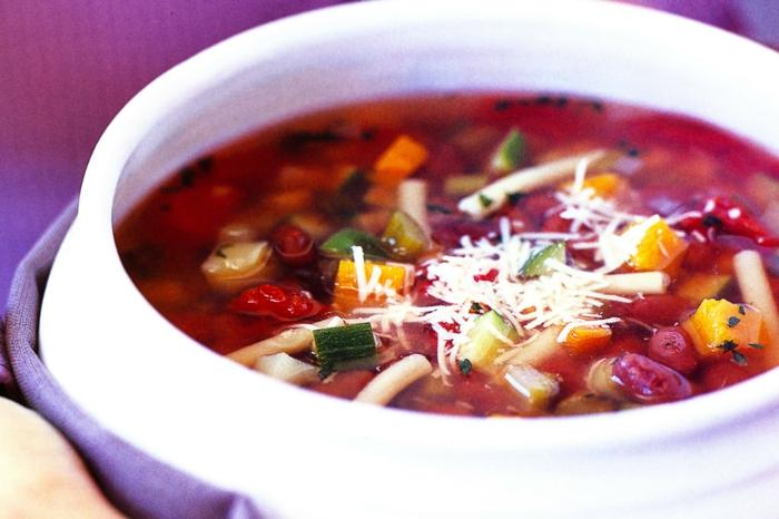 vegetarsiches Weihnachtsmenue rezepte ohne fleisch minestrone
