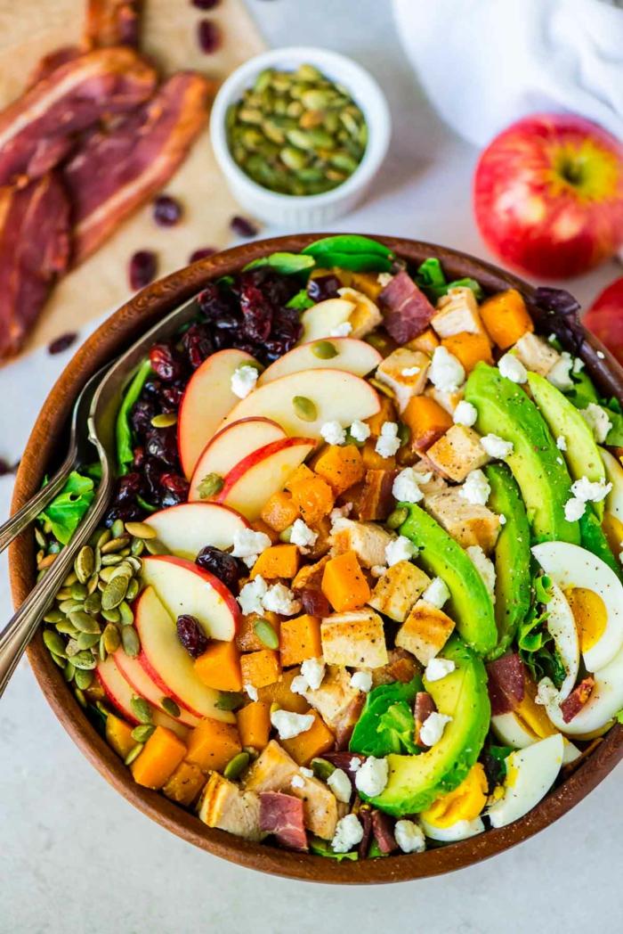 vegetarsiches Weihnachtsmenue rezepte ohne fleisch salat nahrhaft