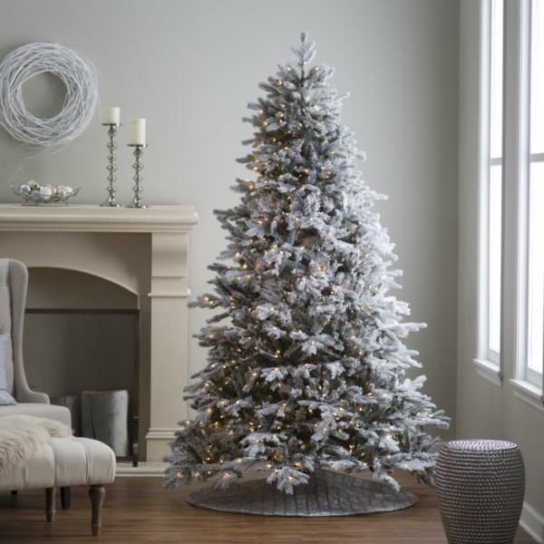 weißer Weihnachtsbaum ideen