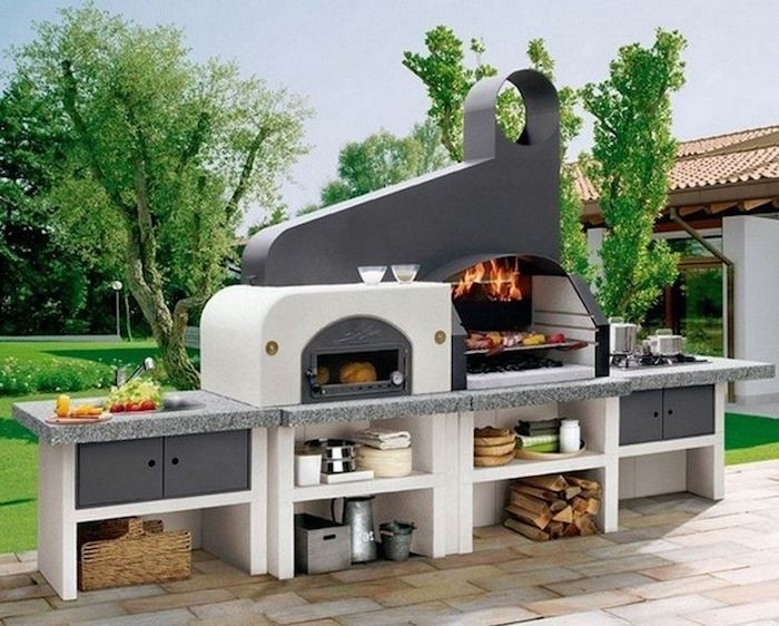 Aussenküche Mit Pizzaofen : Pizzaofen selber bauen: das müssen sie in erwägung ziehen!