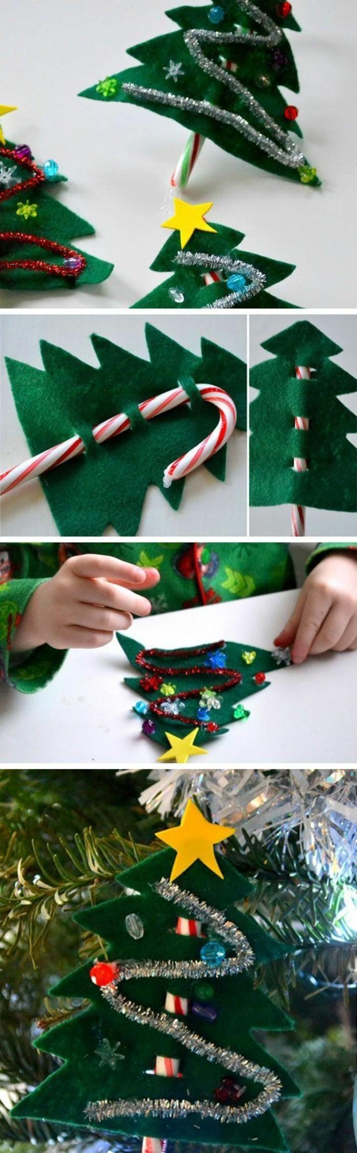 weihnachtsbasteln mit kindern grundformen farben