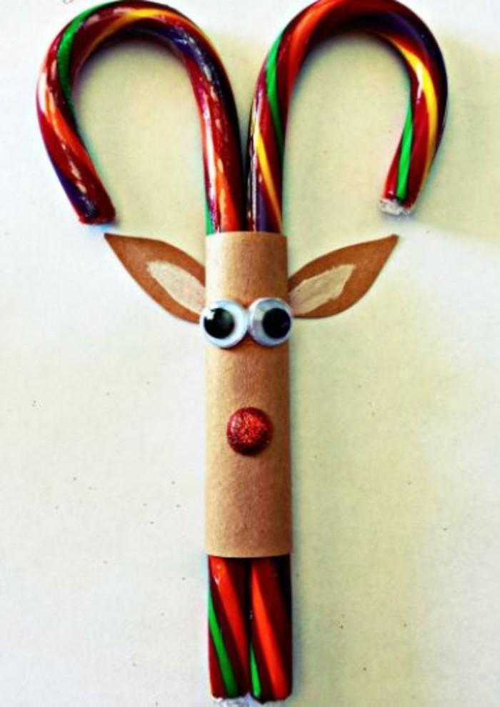 weihnachtsbasteln mit kindern grundformen rudolf