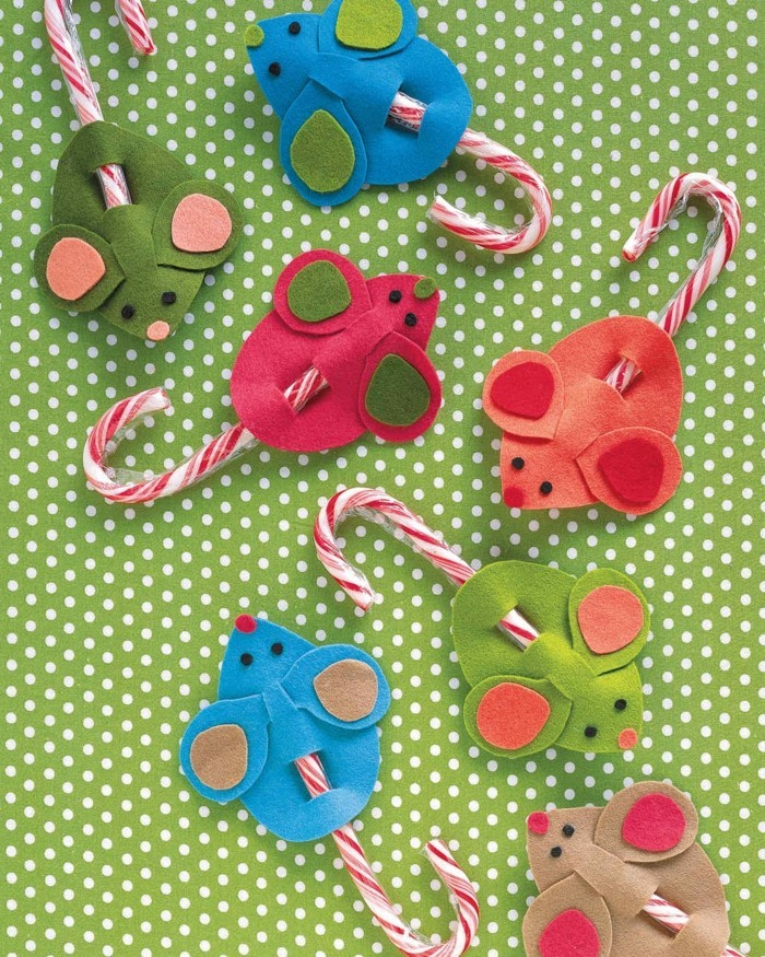 weihnachtsbasteln mit kindern grundformen weihnachtsschmuck