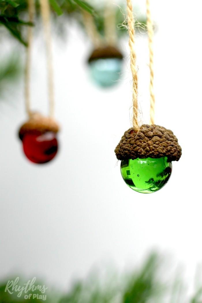 weihnachtsbasteln mit kindern steine bemalen marbe