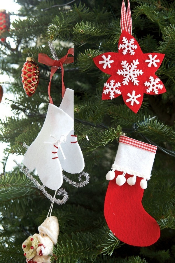 Weihnachtsbaumanhänger Basteln kreative ideen für festliche weihnachtsdeko zu hause fresh ideen
