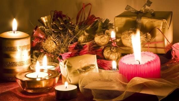 weihnachtsbeleuchtung tischdeko beleuchtung glitzer kerzen