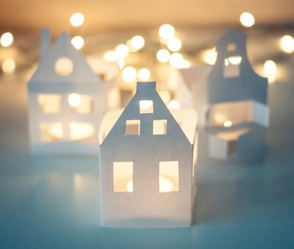 weihnachtsbeleuchtung tischdeko beleuchtung windlichter