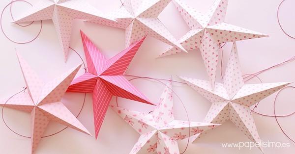 weihnachtssterne aus papier origami weihnachten